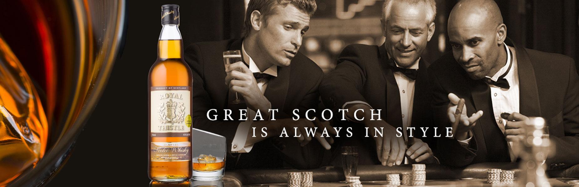 Royal Thistle Whisky