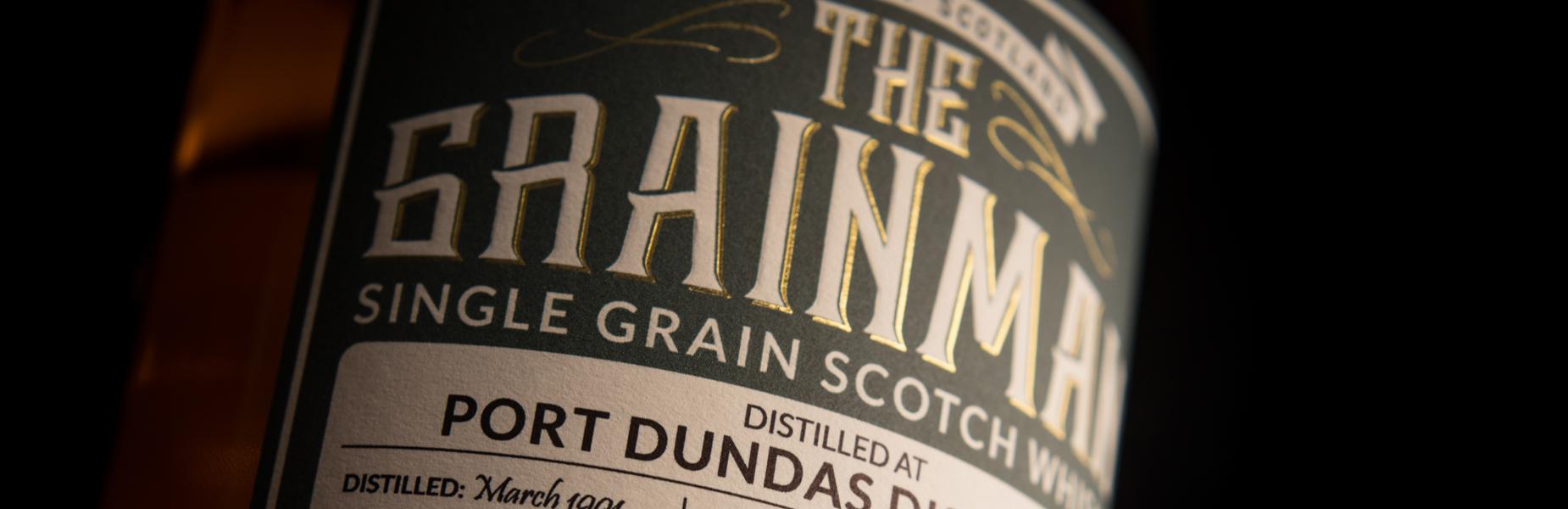 The Grainman Single Grain Malt Whisky