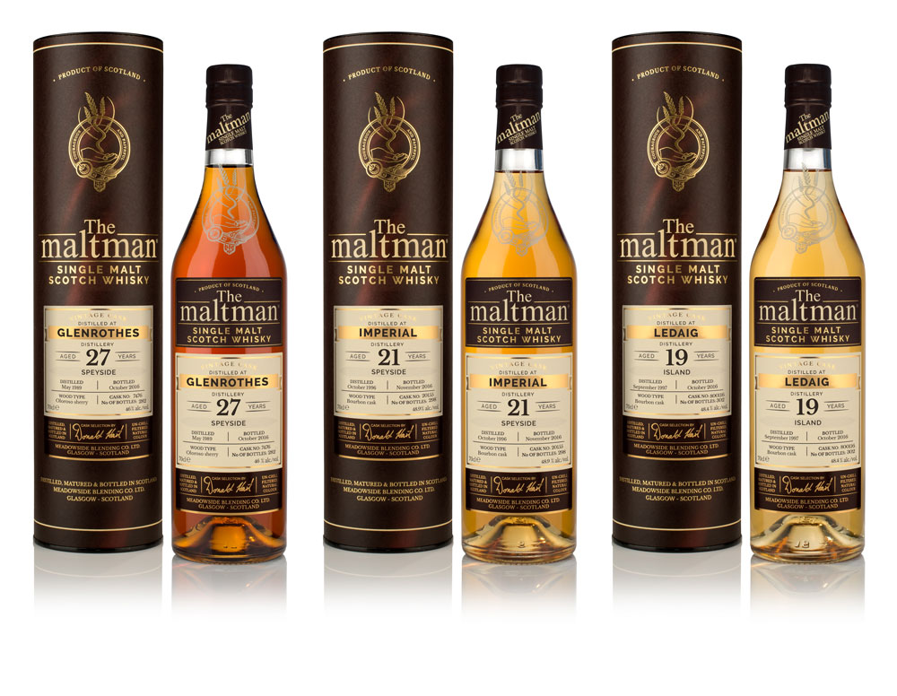 The Maltman Whisky Range